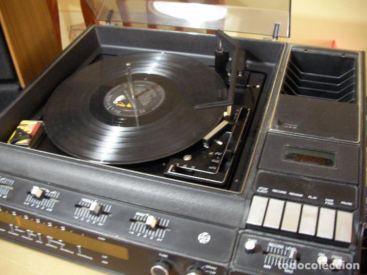 Radios antiguas: ANTIGUO RADIO PICKUP CASSETTE MUSIC CENTRE PYE MOD. 5024 FUNCIONANDO CORRECTAMENTE - Foto 8 - 194898495