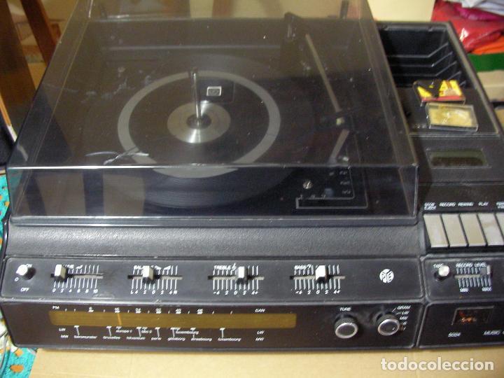 Radios antiguas: ANTIGUO RADIO PICKUP CASSETTE MUSIC CENTRE PYE MOD. 5024 FUNCIONANDO CORRECTAMENTE - Foto 11 - 194898495
