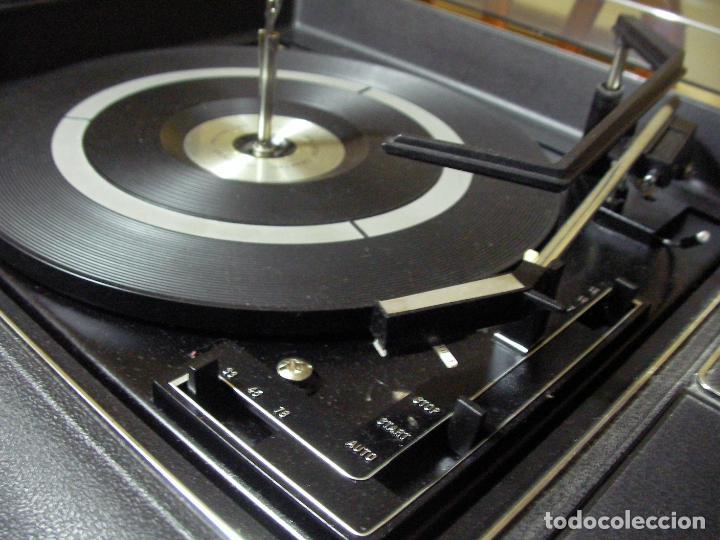 Radios antiguas: ANTIGUO RADIO PICKUP CASSETTE MUSIC CENTRE PYE MOD. 5024 FUNCIONANDO CORRECTAMENTE - Foto 13 - 194898495