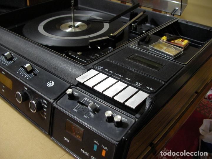 Radios antiguas: ANTIGUO RADIO PICKUP CASSETTE MUSIC CENTRE PYE MOD. 5024 FUNCIONANDO CORRECTAMENTE - Foto 15 - 194898495