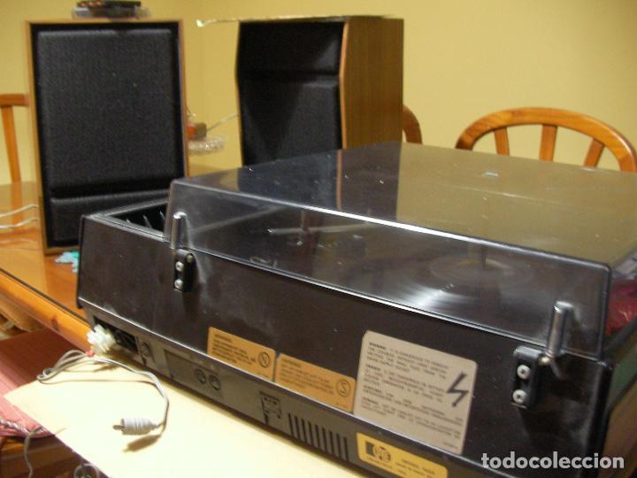 Radios antiguas: ANTIGUO RADIO PICKUP CASSETTE MUSIC CENTRE PYE MOD. 5024 FUNCIONANDO CORRECTAMENTE - Foto 20 - 194898495