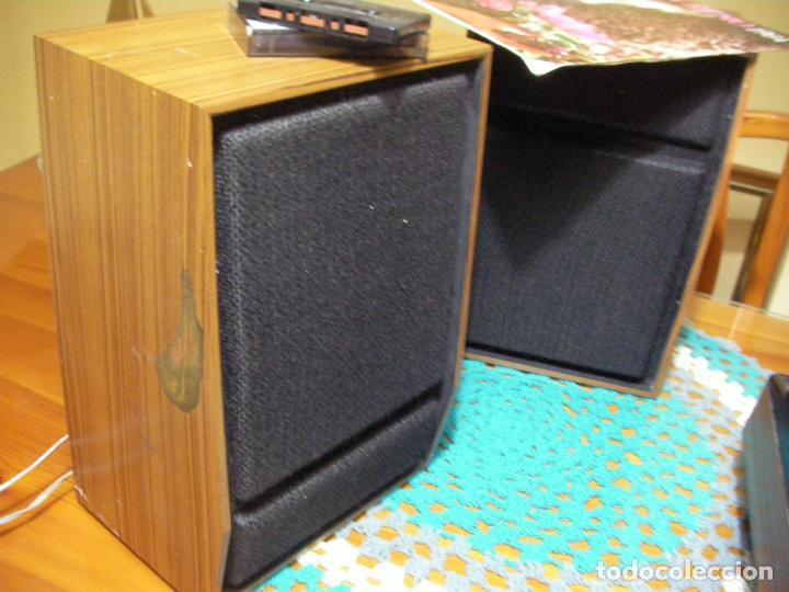 Radios antiguas: ANTIGUO RADIO PICKUP CASSETTE MUSIC CENTRE PYE MOD. 5024 FUNCIONANDO CORRECTAMENTE - Foto 22 - 194898495
