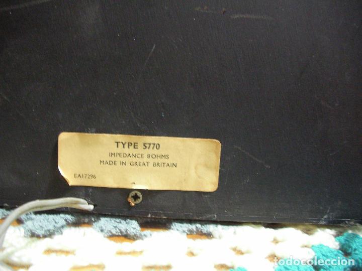 Radios antiguas: ANTIGUO RADIO PICKUP CASSETTE MUSIC CENTRE PYE MOD. 5024 FUNCIONANDO CORRECTAMENTE - Foto 23 - 194898495