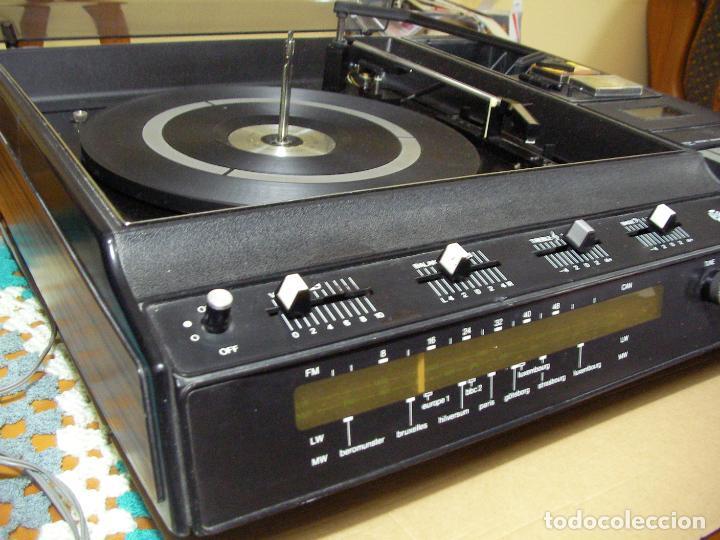 ANTIGUO RADIO PICKUP CASSETTE MUSIC CENTRE PYE MOD. 5024 FUNCIONANDO CORRECTAMENTE (Radios, Gramófonos, Grabadoras y Otros - Transistores, Pick-ups y Otros)
