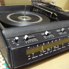 Radios antiguas: ANTIGUO RADIO PICKUP CASSETTE MUSIC CENTRE PYE MOD. 5024 FUNCIONANDO CORRECTAMENTE. Lote 194898495