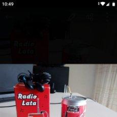 Radios antiguas: RADIO LATA COCA COLA. Lote 194972533