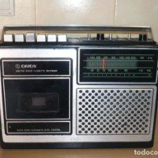 Radios antiguas: RADIO CASSETTE ORION CAF-NTM. RARO DE VER.. Lote 195033082