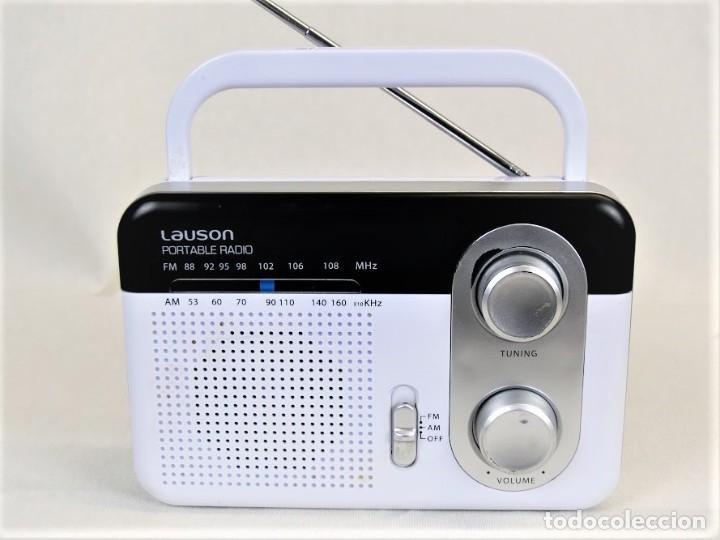 RADIO PORTÁTIL LAUSON RN 39 (Radios, Gramófonos, Grabadoras y Otros - Transistores, Pick-ups y Otros)
