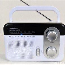 Radios antiguas: RADIO PORTÁTIL LAUSON RN 39. Lote 195039097