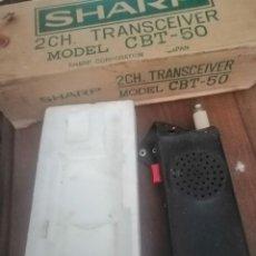 Radios antiguas: TRANSCEIVER CBT EN SU CAJA . Lote 195042536