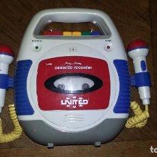 Radios antiguas: CASETTE GRABADOR UNITED.. Lote 195043753