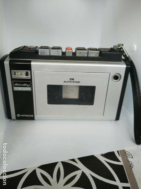 WALKMAN CASSETTE CON FUNDA HITACHI TRQ 31 MADE IN JAPAN (Radios, Gramófonos, Grabadoras y Otros - Transistores, Pick-ups y Otros)