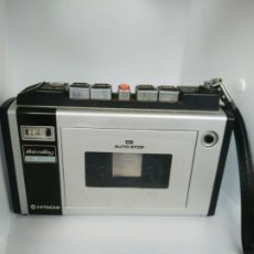 Radios antiguas: WALKMAN CASSETTE CON FUNDA HITACHI TRQ 31 MADE IN JAPAN. Lote 195048815