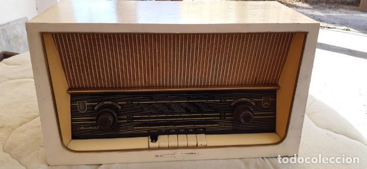 RADIO GRANDE ELPROM BUEN ESTADO FUNCIONANDO AÑOS 60 (Radios, Gramófonos, Grabadoras y Otros - Transistores, Pick-ups y Otros)