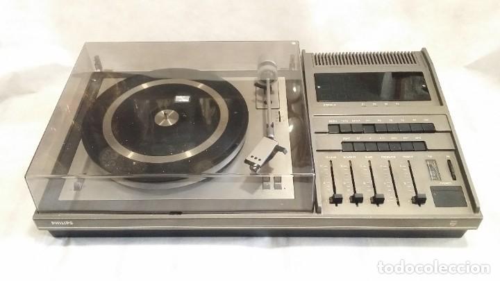 Radios antiguas: Tocadiscos Philips con radio FM - Foto 2 - 195106308