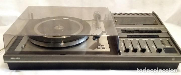 Radios antiguas: Tocadiscos Philips con radio FM - Foto 3 - 195106308
