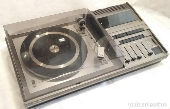 Radios antiguas: Tocadiscos Philips con radio FM - Foto 4 - 195106308