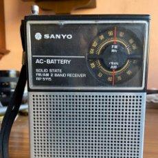 Radios antiguas: RADIO TRANSISTOR SANYO. Lote 195128833