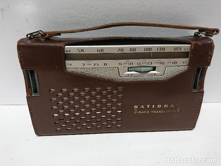 RADIO TRANSISTOR NATIONAL AB 210 9TRANSISTORES (Radios, Gramófonos, Grabadoras y Otros - Transistores, Pick-ups y Otros)