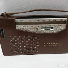 Radios antiguas: RADIO TRANSISTOR NATIONAL AB 210 9TRANSISTORES. Lote 195135548