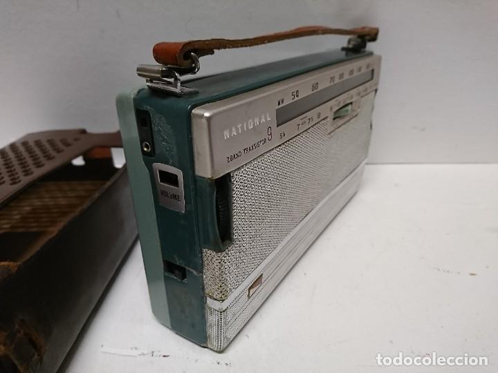 Radios antiguas: Radio transistor National ab 210 9transistores - Foto 2 - 195135548