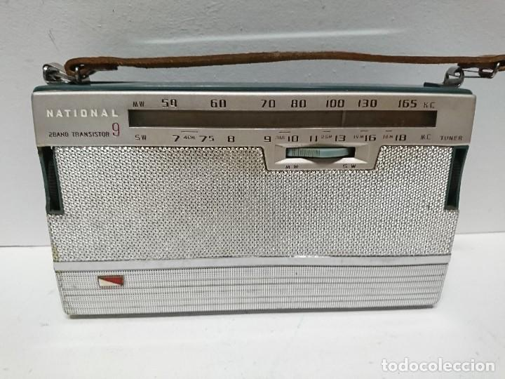 Radios antiguas: Radio transistor National ab 210 9transistores - Foto 3 - 195135548