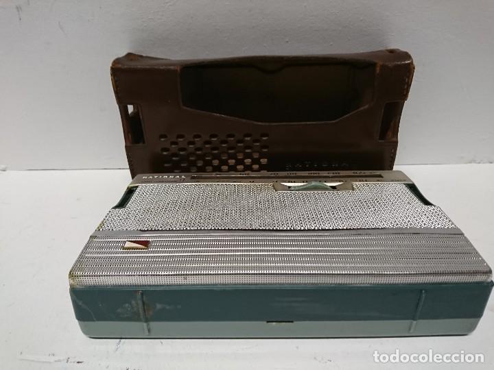 Radios antiguas: Radio transistor National ab 210 9transistores - Foto 4 - 195135548