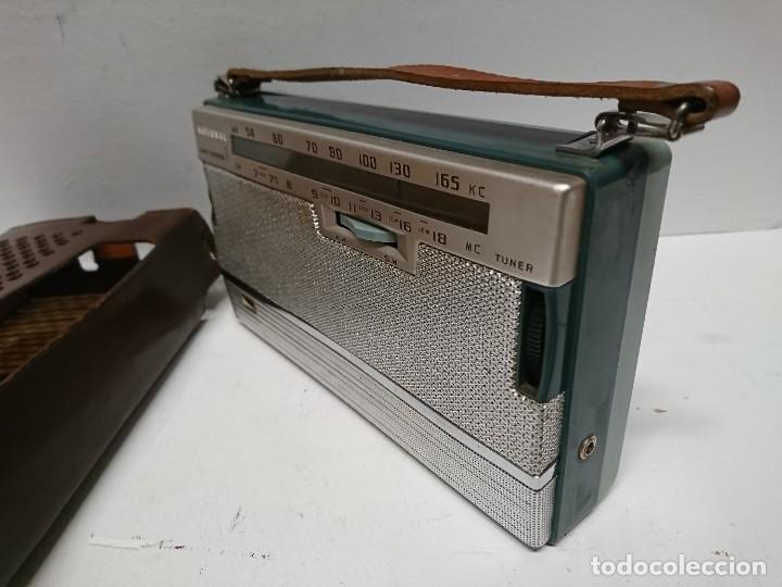 Radios antiguas: Radio transistor National ab 210 9transistores - Foto 5 - 195135548