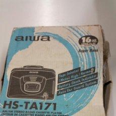 Radios antiguas: WALKMAN AIWA HS TA171. Lote 195140612