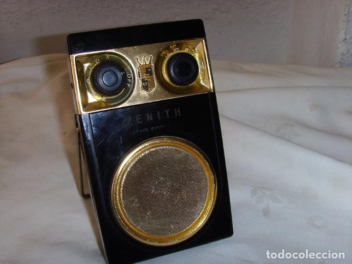 Radios antiguas: RADIO TRANSITOR ZENITH ROYAL 500 - Foto 1 - 195144238