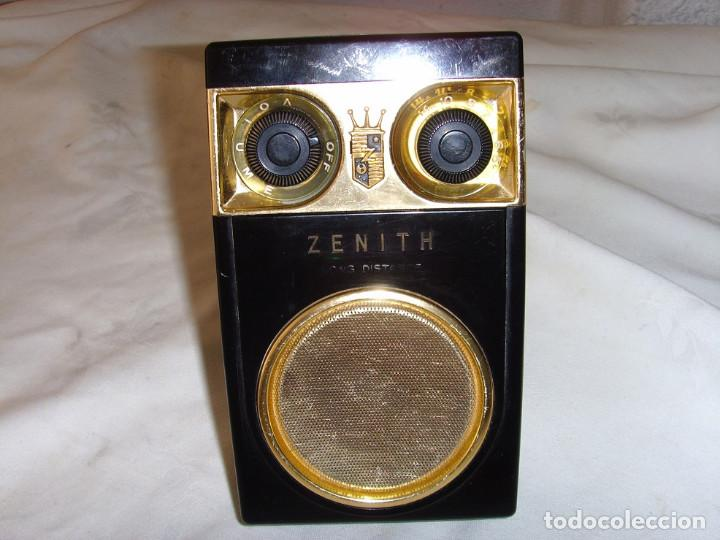 Radios antiguas: RADIO TRANSITOR ZENITH ROYAL 500 - Foto 9 - 195144238