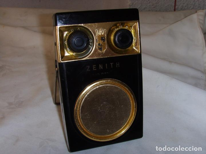 Radios antiguas: RADIO TRANSITOR ZENITH ROYAL 500 - Foto 12 - 195144238