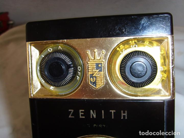 Radios antiguas: RADIO TRANSITOR ZENITH ROYAL 500 - Foto 18 - 195144238