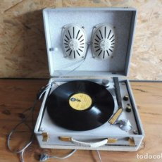 Radios antiguas: TOCADISCOS LA VOZ DE SU AMO - AÑOS 50 . Lote 195159408