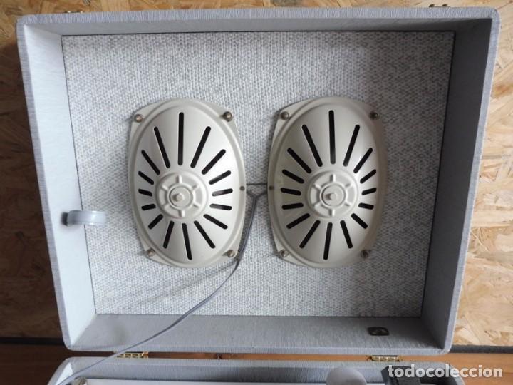 Radios antiguas: TOCADISCOS LA VOZ DE SU AMO - AÑOS 50 - Foto 5 - 195159408
