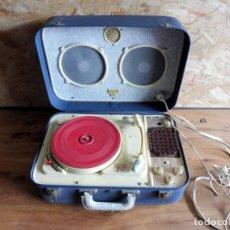 Radios antiguas: TOCADISCOS MARCA TEPPAZ - LYON FRANCIA. Lote 195159931