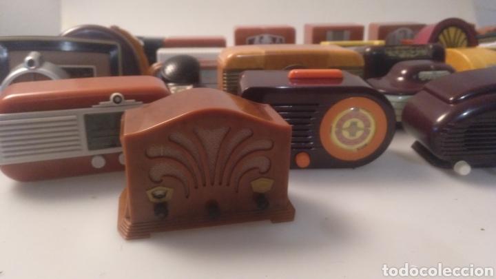 Radios antiguas: Colección mini radios réplicas antiguas - Foto 2 - 195168077