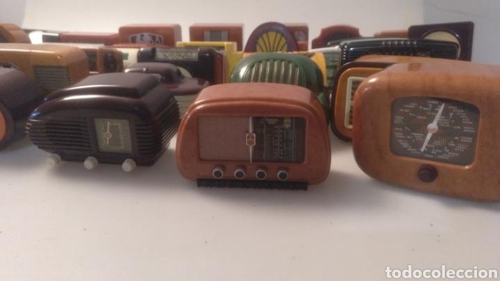 Radios antiguas: Colección mini radios réplicas antiguas - Foto 3 - 195168077