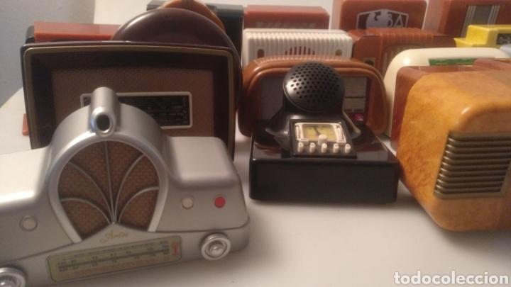 Radios antiguas: Colección mini radios réplicas antiguas - Foto 4 - 195168077