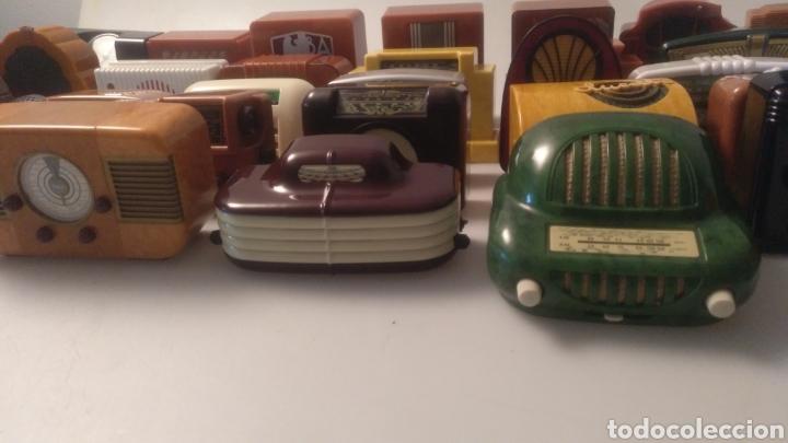 Radios antiguas: Colección mini radios réplicas antiguas - Foto 5 - 195168077