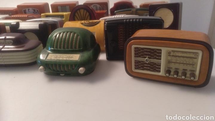 Radios antiguas: Colección mini radios réplicas antiguas - Foto 6 - 195168077
