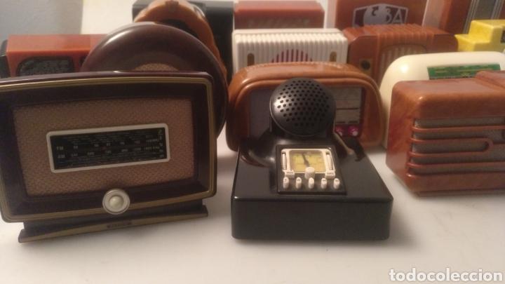 Radios antiguas: Colección mini radios réplicas antiguas - Foto 7 - 195168077