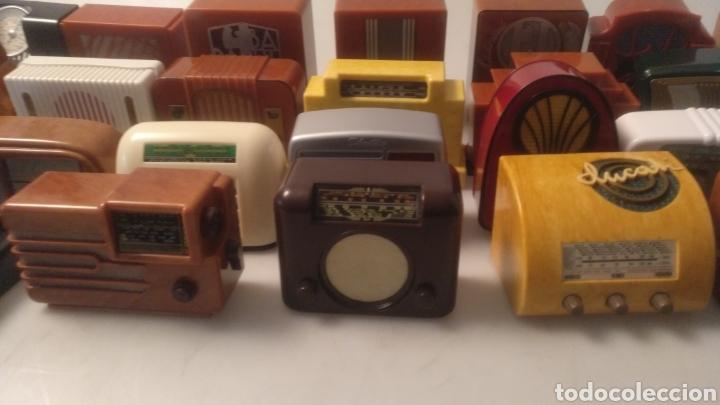Radios antiguas: Colección mini radios réplicas antiguas - Foto 8 - 195168077