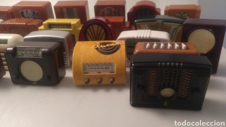 Radios antiguas: Colección mini radios réplicas antiguas - Foto 9 - 195168077