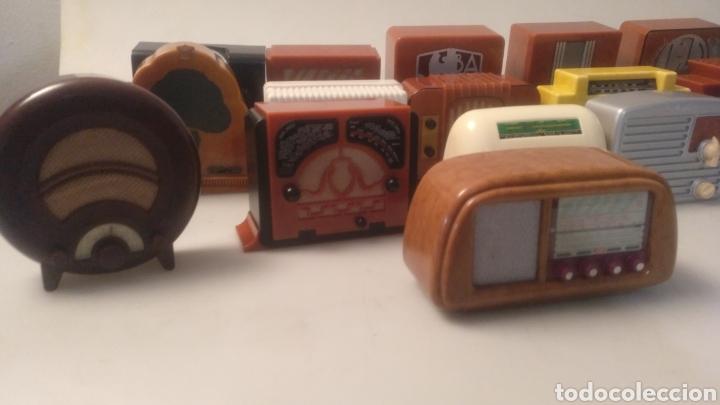 Radios antiguas: Colección mini radios réplicas antiguas - Foto 10 - 195168077