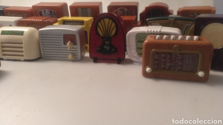 Radios antiguas: Colección mini radios réplicas antiguas - Foto 11 - 195168077
