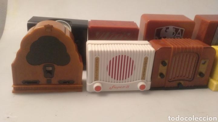 Radios antiguas: Colección mini radios réplicas antiguas - Foto 12 - 195168077