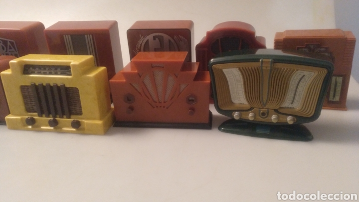 Radios antiguas: Colección mini radios réplicas antiguas - Foto 13 - 195168077