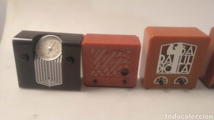 Radios antiguas: Colección mini radios réplicas antiguas - Foto 14 - 195168077