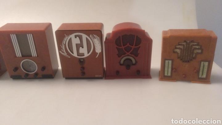 Radios antiguas: Colección mini radios réplicas antiguas - Foto 15 - 195168077
